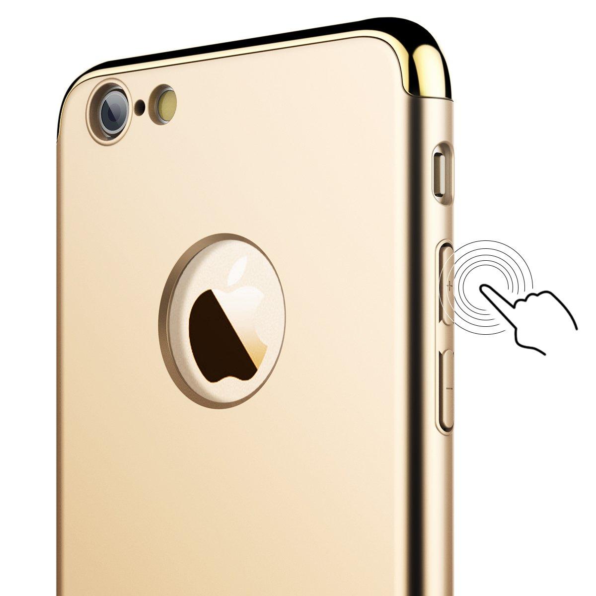 Vemmore Iphone 6s Plus Hlle 6 Hard Handyhlle Case Matte Full Protective For Golden Ultra Slim Dnn 360 Hardcase
