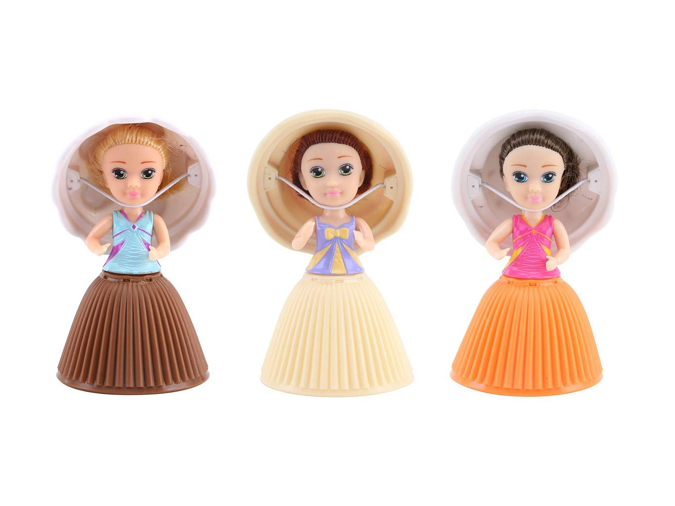 399e5869994a6 Buy Cupcake Surprise Mini Doll Pack 3 Pieces (Assorted Colors)