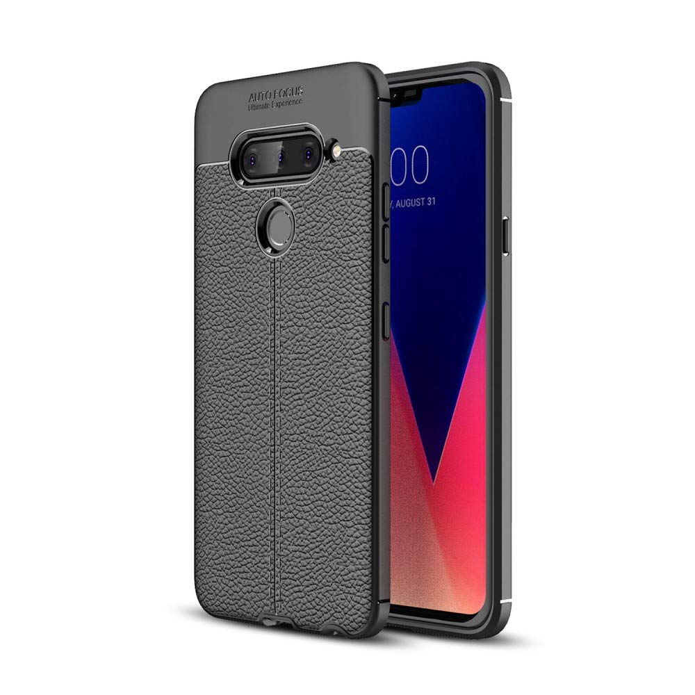 BEST2MOVIL Funda Carcasa Compatible PLASTICO TPU Silicona LG V40 ...