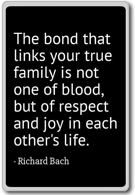 Amazon.com: The bond that links your true family is not on ...