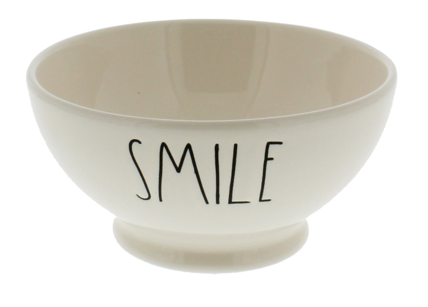 Rae Dunn by Magenta SMILE Ice Cream / Cereal Bowl