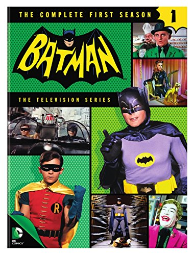 Batman: The Complete First Season (Dvd Batman Series Complete Tv)