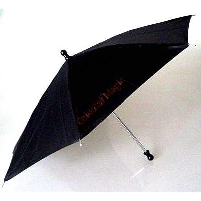 Parasol Production Umbrella (8 Colors Avaialble) Magic Tricks , Party Tricks, Amazing Tricks , Magic Kit,Parasol Production Magic (Black): Toys & Games