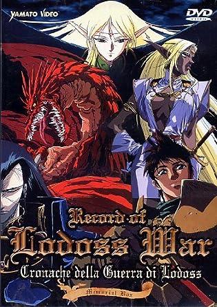 Amazon.com: Record Of Lodoss War (2 Dvd) [Import italien ...