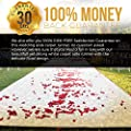 Healon 50 x 3 ft Wedding Aisle Runner White Aisle Runner Rug with Pull String for Wedding Ceremony and Party