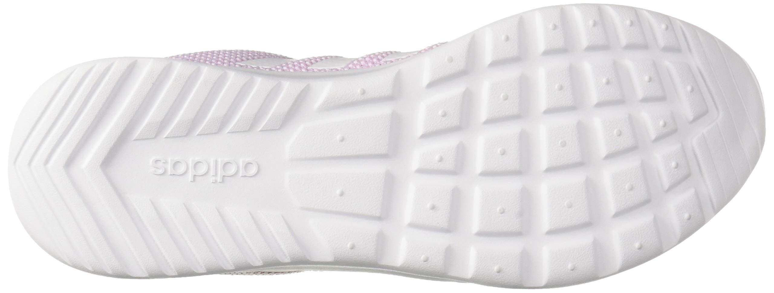 adidas Women's Cloudfoam QT Racer, White/aero Pink, 5.5 M US by adidas (Image #3)