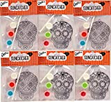 Creative Hobbies Suncatcher Craft Kits For Kids - 6 Complete Kits - Sugar Skulls - Great Group Project, Party Favor, DIY Activity