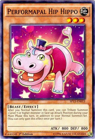 Yu-Gi-Oh! - Performapal Hip Hippo (SP15-EN015) - Star Pack ARC-V - 1st Edition - (Hip Hippos)