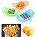 Favolook French Fry Potato chip Cut cutter lama tritatutto affetta frutta e verdura,