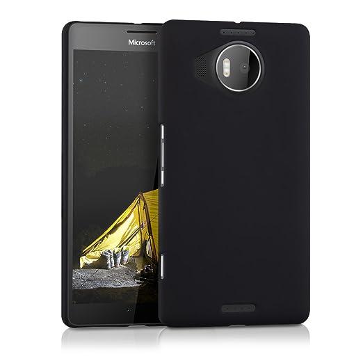 2 opinioni per kwmobile Cover per Microsoft Lumia 950 XL- Custodia rigida in plastica per