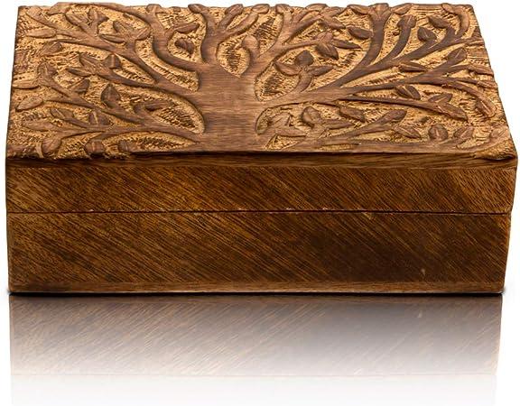 boite à bijoux sculptée bois