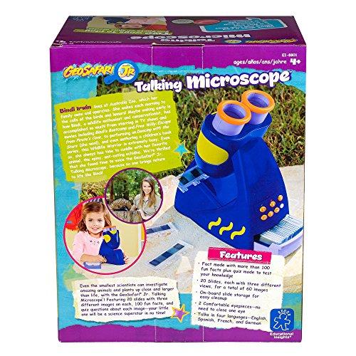 61bDj9jlhOL - Educational Insights GeoSafari Jr. Talking Microscope - Featuring Bindi Irwin - for Preschoolers!
