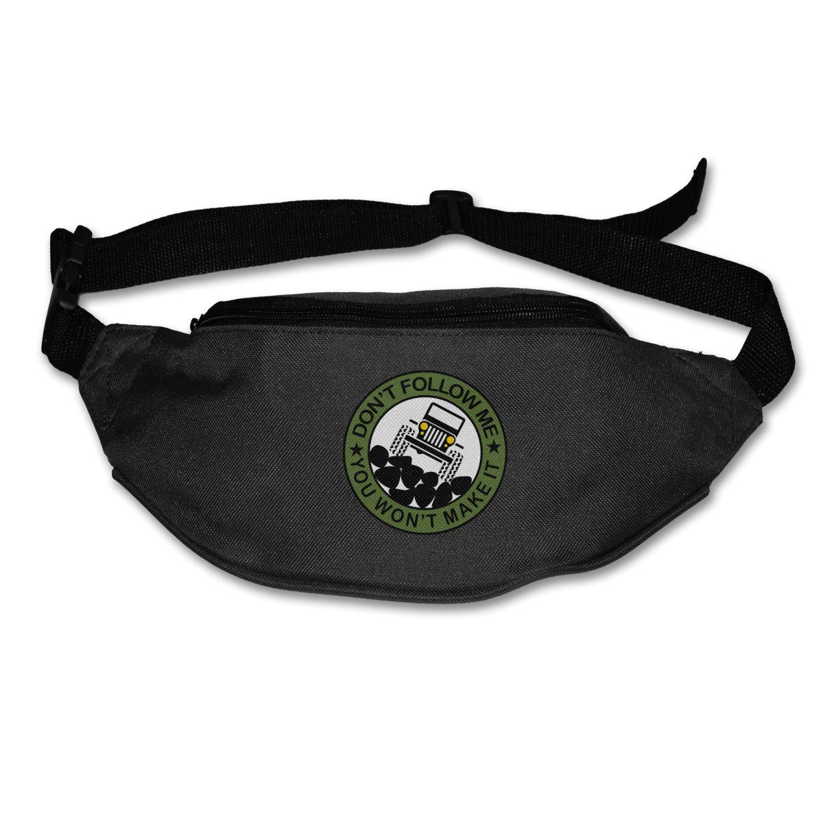 Dont Follow Me Jeep Sport Waist Bag Fanny Pack Adjustable For Hike