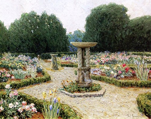 Paul Sawyier Fountains and Formal Rose Gardens Private Collection 30