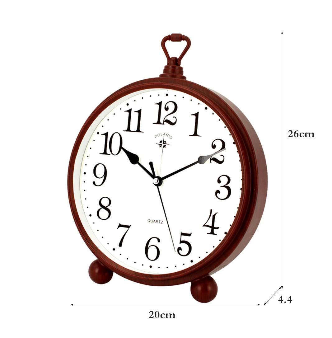 CLHXZE Reloj de péndulo de sobremesa de Mesa de Sala de Estar ...