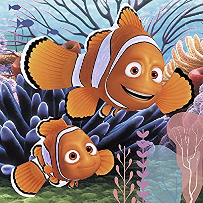 Ravensburger Disney Finding Dory Set of 3 49 Piece Jigsaw Puzzles for Kids – Every Piece is Unique, Pieces Fit Together Perfectly: Toys & Games