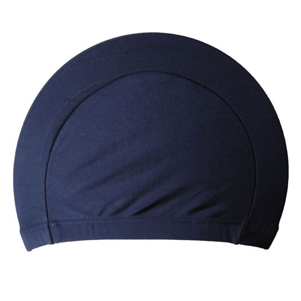 Unisex Polyester Cloth Fabric Bathing Cap Swimming Hats for Water Sports