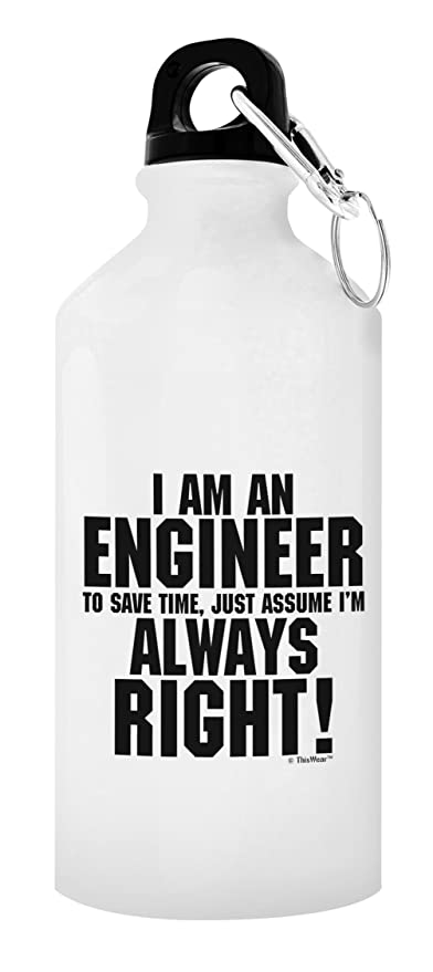 Amazon Engineer Gifts For Men Engineer Water Bottle Im An