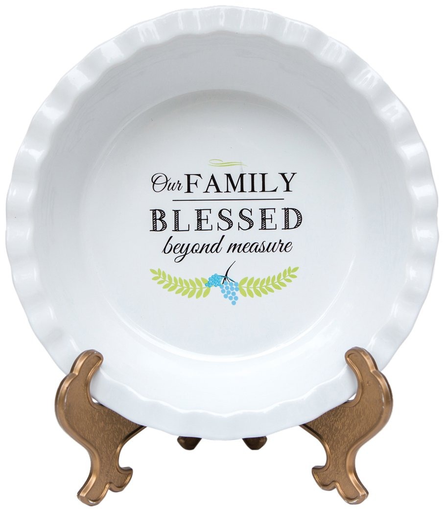 The Grandparent Gift Plate, Family Pie The Grandparent Gift Co. 5501