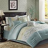 Serene Comforter Set Aqua Queen Review and Comparison