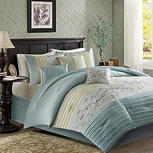 Serene Comforter Set Aqua Queen