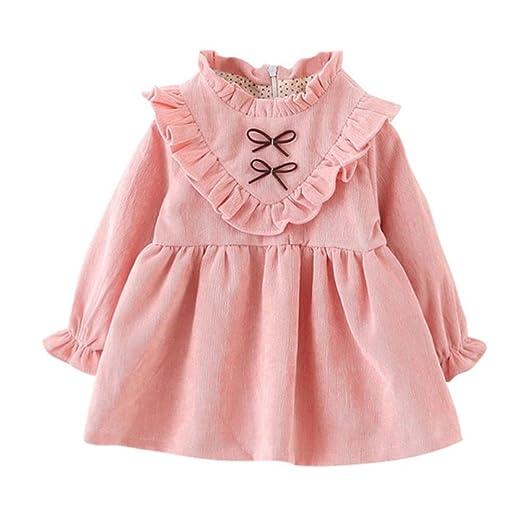 cefc5527d5407 JIANLANPTT Fashion Autumn Baby Girls Velvet Dress Long Sleeve Korean Kids  Dresses