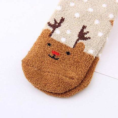 Socks Navidad Impresa Calcetines Mujer Hombres Calcetines Antideslizantes Calcetines de Deporte Calcetines Térmicos para Adult Unisex Calcetines: Amazon.es: ...