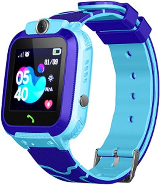 Zqtech Kids Smartwatch - GPS Tracker Smartwatches Wrist Digital Watch Phone SOS Alarm Clock Camera Phone Watch for Children Age 3-12 Boys Girls with ...