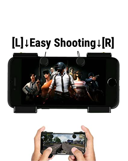 PG VX 1 pair Mobile Joystick Game Fire Button Aim Key Smart phone and game  PUBG Rules of Survival Gaming Trigger L1R1 Shooter Controller for iPhone