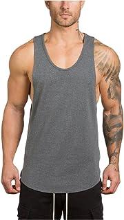 BHYDRY Tank Tops Mens Gym Bodybuilding Fitness Sleeveless Singlet T-Shirt Muscle Vest