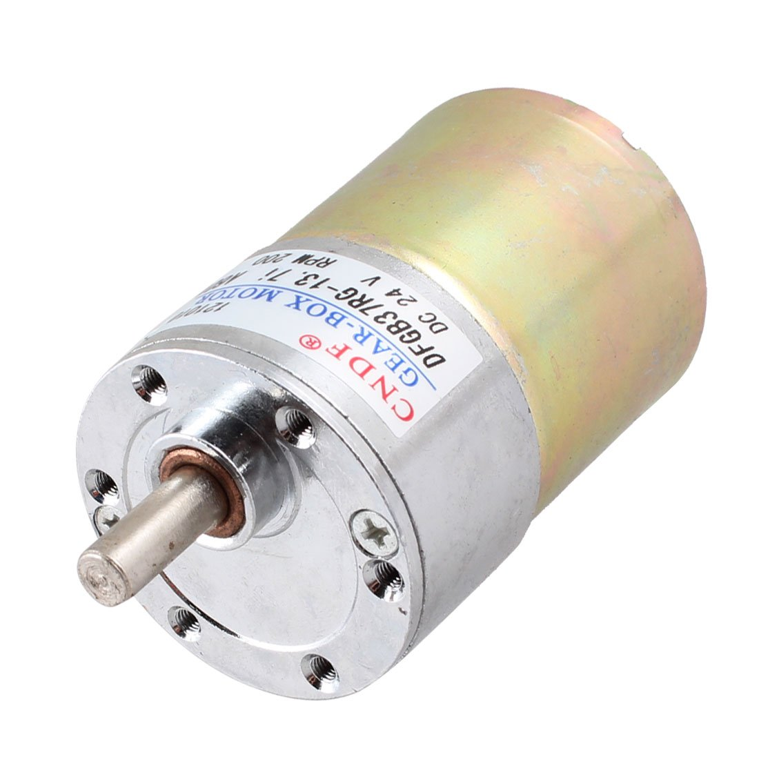 uxcell 24V DC 200RPM 6mm Shaft Magnetic Electric Gear Box Motor Replacement