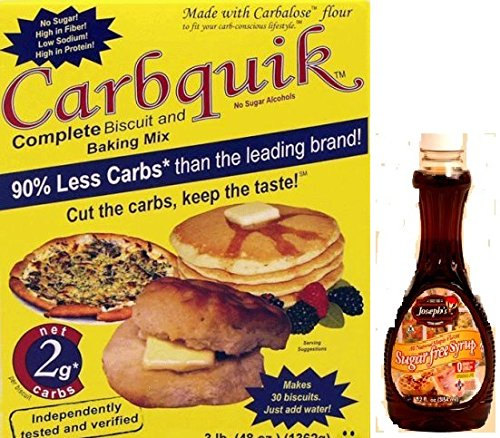 Carbquik Baking Mix and Joseph