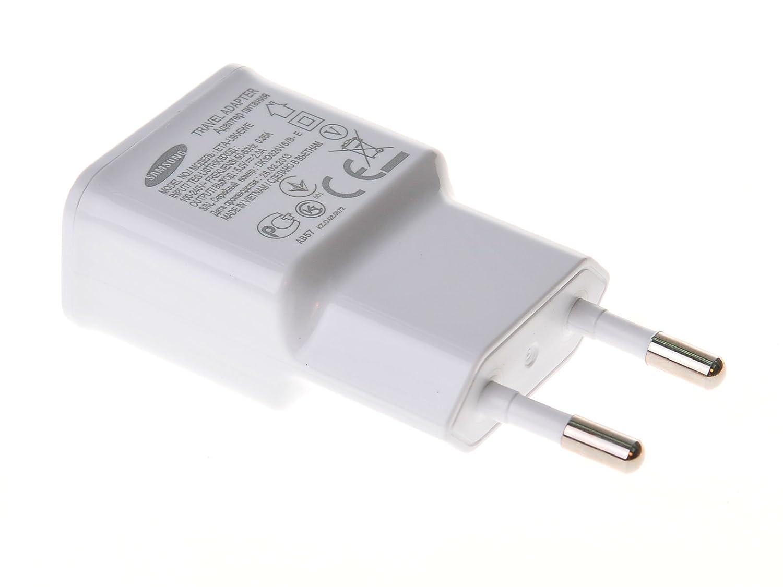 Samsung ETA-U90EW - Cargador enchufe a USB para Samsung Galaxy S4 y Note 2 N7100 (2 A)