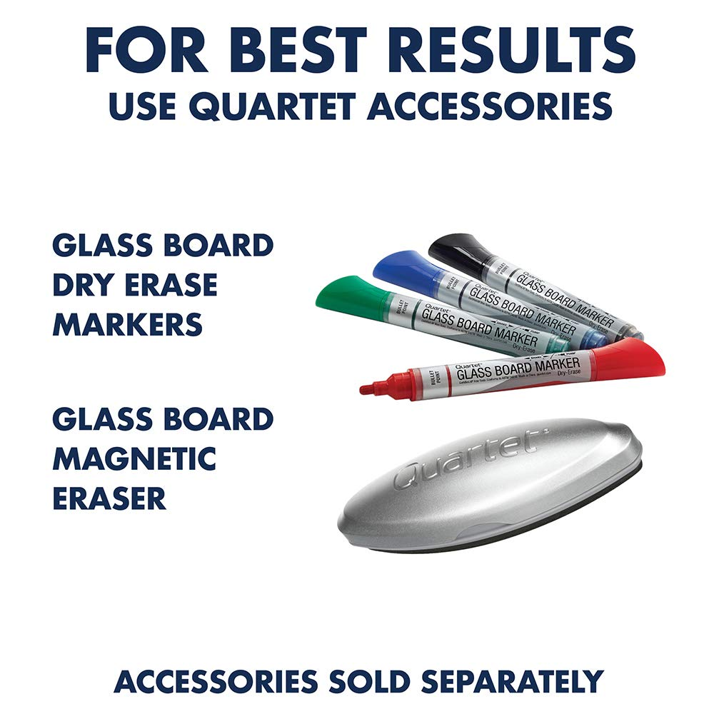 Quartet Glass Whiteboard, Non-Magnetic Dry Erase White Board, 8' x 4', Infinity, Frosted Surface (G9648F) by Quartet (Image #6)