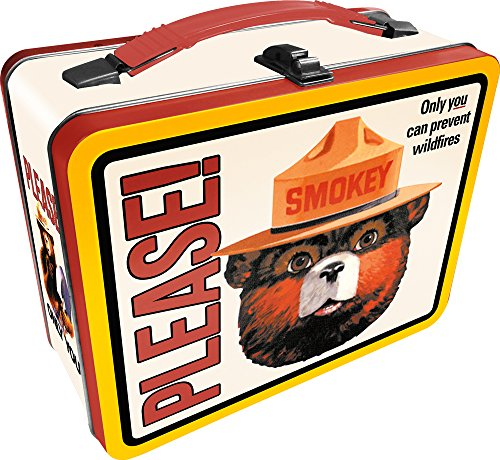 Aquarius Smokey Bear Tin Fun Box ()