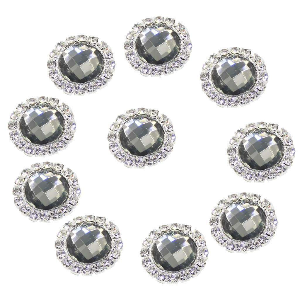 10x New Arrival Multi-Purpose Embellishment Cute Flatback Appliques DIY Crafts