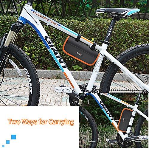 AQQEF Bike Repair Kit, Bicycle Repair Kits Bag With Portable Bike Pump  16-In-1 Bike Multi Tool Kit Sets by AQQEF (Image #6)