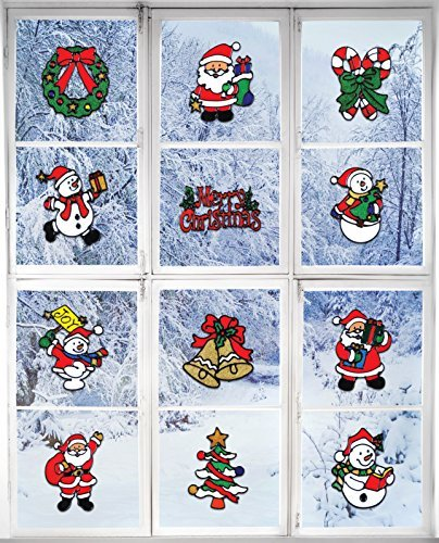 Holiday Window Sticker Clings