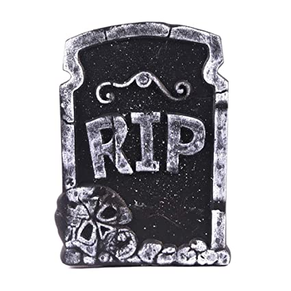 Amazon com : Zilbery Halloween Tombstone Foam with Great