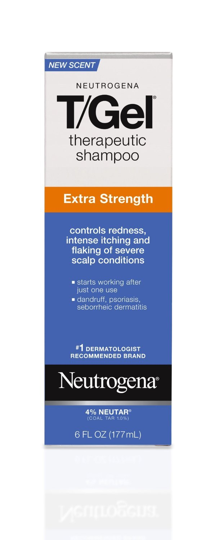 Neutrogena Shampoo, Therapeutic, Extra Strength, 6 oz (Pack of 6) by Neutrogena