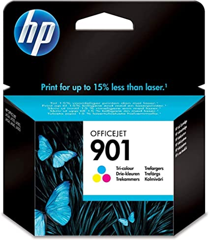 Hp 901 Farbe Original Druckerpatrone Für Hp Officejet 4500 J4524 J4580 J4624 J4682 Bürobedarf Schreibwaren