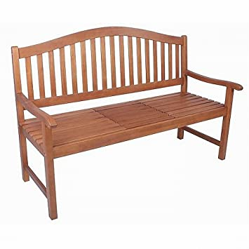 Amazonde Bank Gartenbank Sitzbank Holz Holzbank Mit Tisch Neu