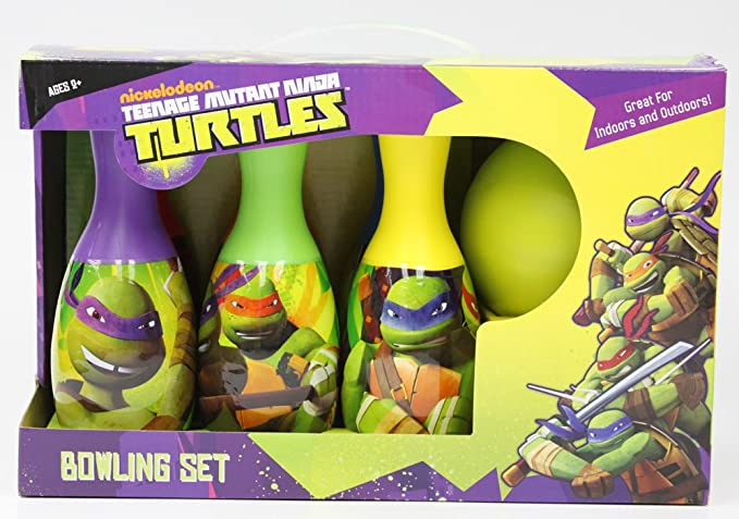 Amazon.com: Teenage Mutant Ninja Turtles oficial – Juego de ...