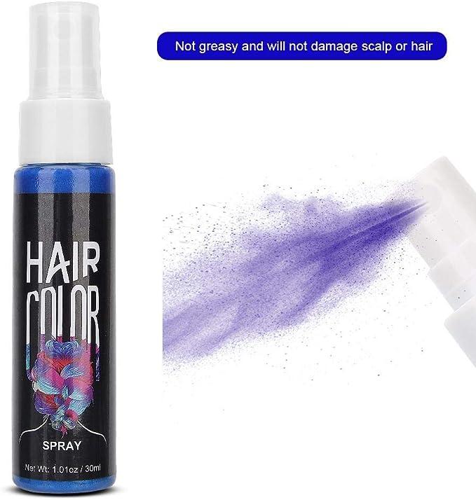Spray de Color para El Cabello Temporal, 30ml Spray de Color ...