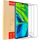 [3-Pack] PULEN LiQuidSkin Screen Protector for Xiaomi Mi Note 10 and Mi Note 10 Pro(Work with The Fingerprint Unlock Function),HD Clear Anti-Scratch Full Coverage High Sensitivity Flexible TPU Film