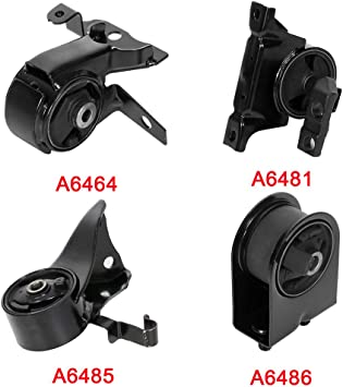 OCPTY Engine Motor Mount Set Compatible with Mazda Protege 2001 2002 2003 2.0L//1.6L