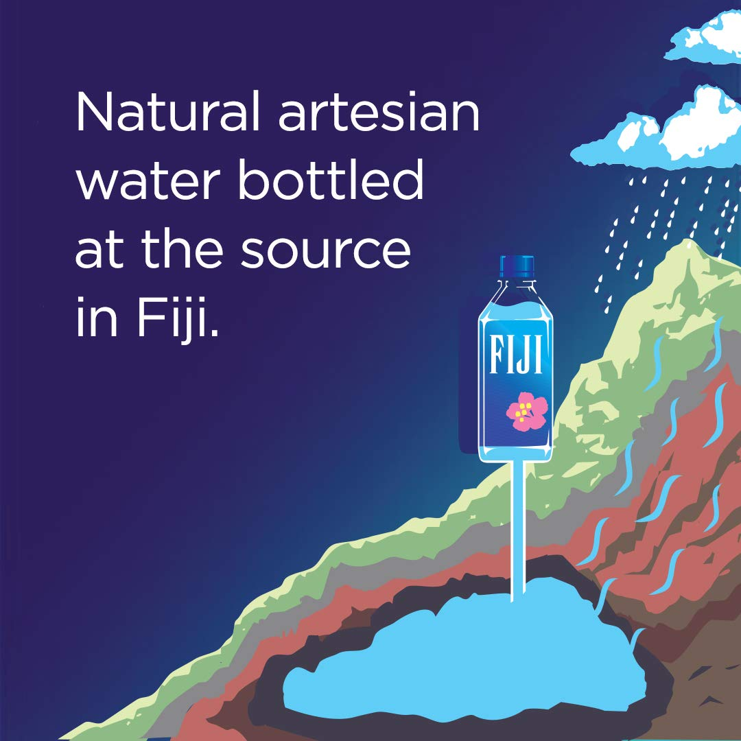 FIJI Natural Artesian Water, 11.15 Fl Oz (Pack of 36 Bottles) by FIJI Water (Image #5)