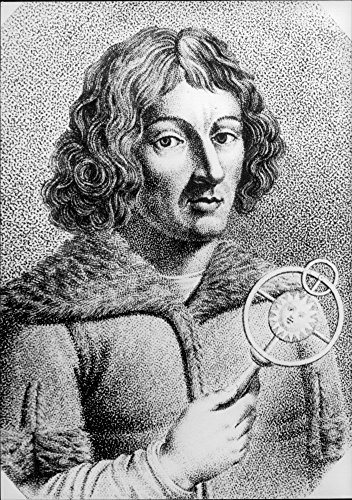 Vintage photo of Portrait of the Polish astronomer Nicolaus Copernicus.