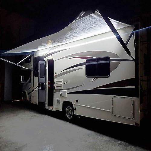 White RV Exterior Lights [Seagen] Picture