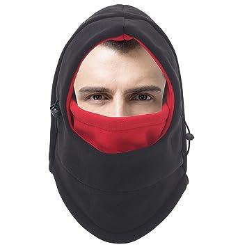 fabb2539e Men's Fishing Face Shield Hat Full Face Cover Winter Windproof ...